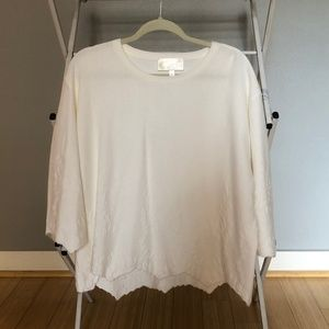 Tops - Zoa White Sweater